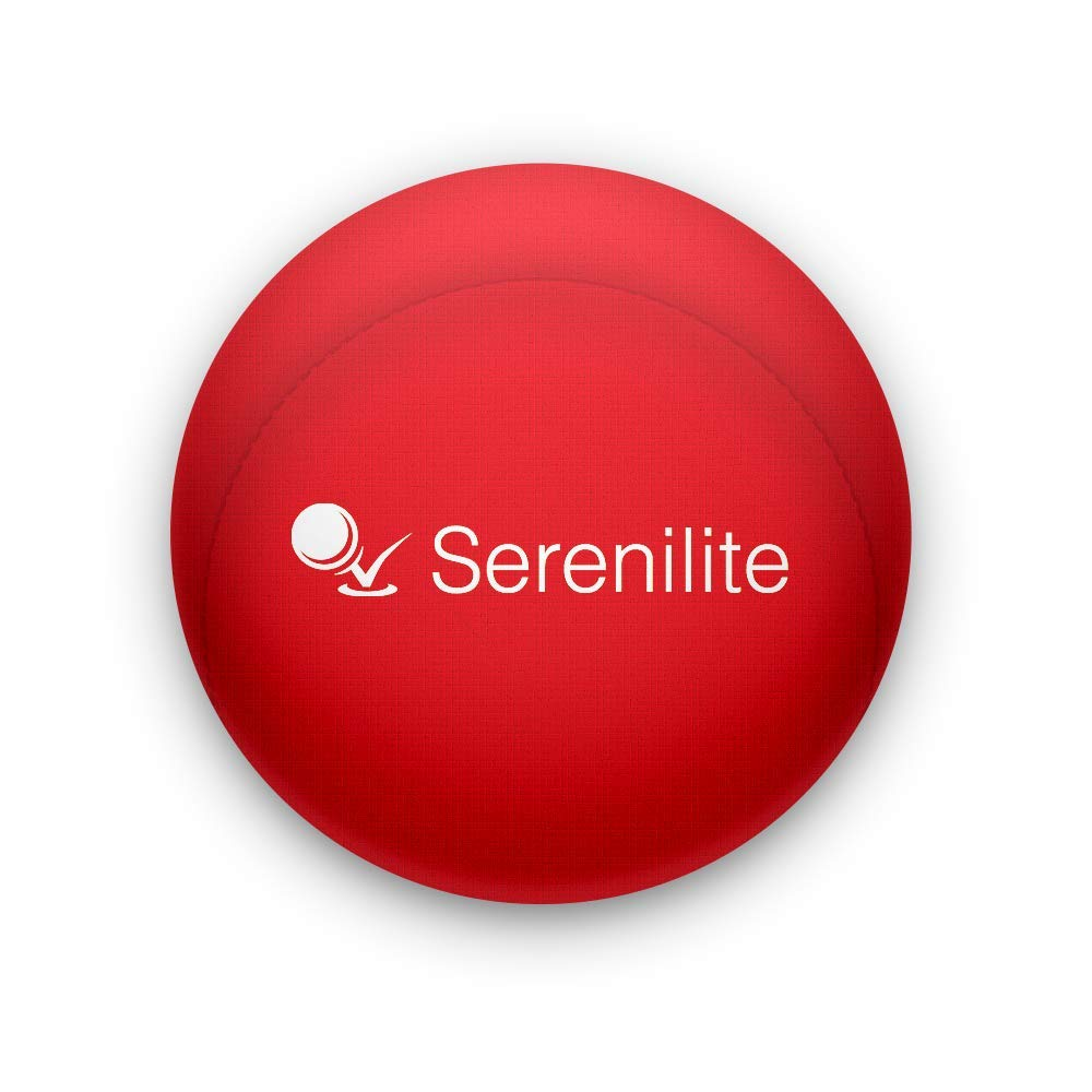 Serenilite Hand Therapy Stress Ball - Optimal Stress Relief - Great for Hand Exercises and Strengthening (Rose) by Serenilite