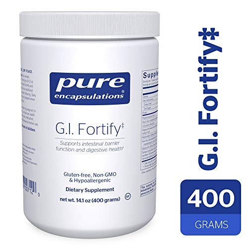 Microflora Balance - Pure Encapsulations - G.I. Fortify - Supports The Function, Microflora Balance, Cellular Health, and Detoxification of The G.I. Tract* - 400 Grams
