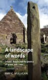 A landscape of words: Ireland, Britain and the poetics of space, 700-1250 (Manchester Medieval Literature and Culture)