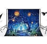 Best Lb Vinyls - LB 7x5ft Halloween Vinyl Photography Backdrop Customized Photo Review