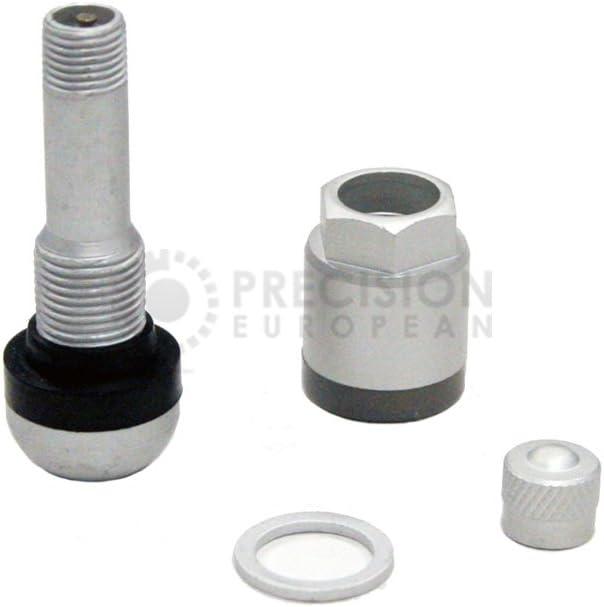 Beru Style 4 Pieces TPMS Wheel Valve Stem Assembly Kit for BMW Fits RDV021 RDE012 RDE008