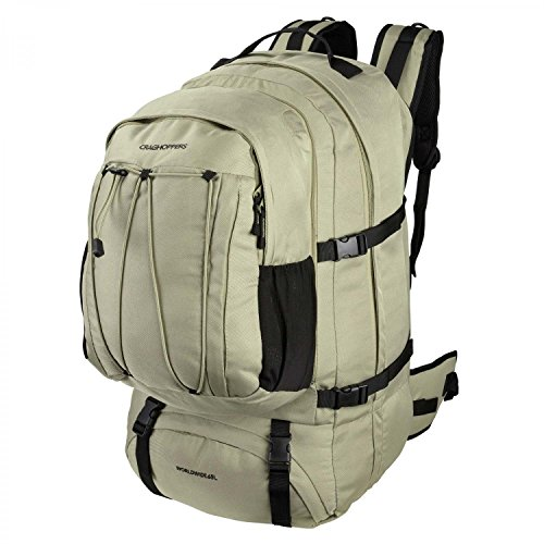 Craghoppers Outdoor Worldwide 65L Rucksack (One Size) (Pebble) by Craghoppers