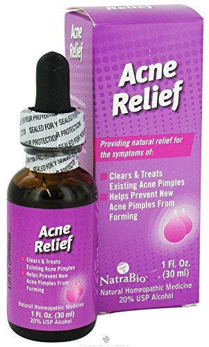 Natrabio Acne Relief, 1-Ounce (Pack of 2)