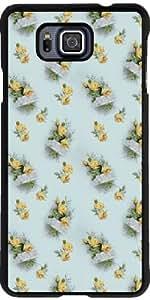 Funda para Samsung Galaxy Alpha - Rosas De La Vendimia by Grab My Art