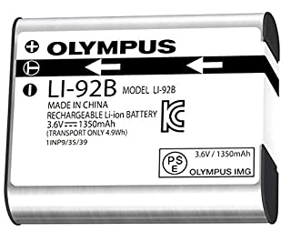 Olympus Li-92 Rechargeable Battery (Silver) (B00L9IKOF8) | Amazon Products