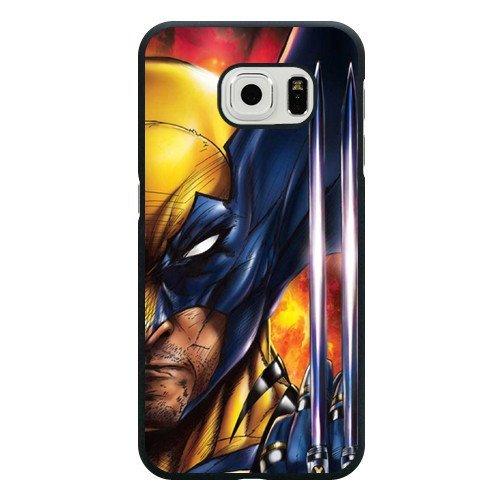 Generic Marvel Comics Superhero Wolverine Phone Case for SamSung Galaxy S7 Edge