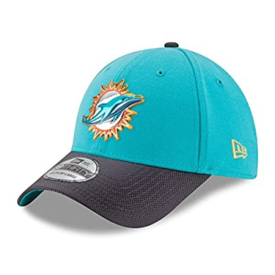 Miami Dolphins New Era 39THIRTY NFL 2015 Gold On-Field Performance Flex Hat