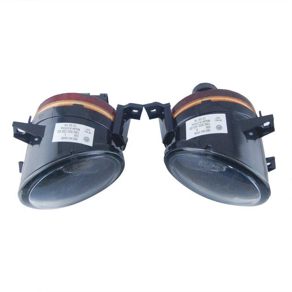 THG Set of 12V 55W H11 Fog Lamp Yellow Light