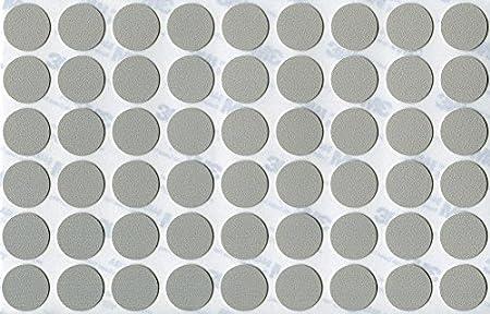 Diam/ètre 13 mm Feuille simple de 126 KwikCaps/® PVC Hacienda Blanc Cache-vis adh/ésifs VBA plus Trous de forage Clous Came