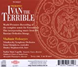 Prokofiev: Ivan the Terrible - The complete music for Eisenstein's film