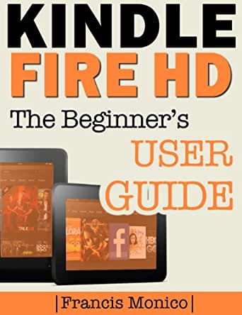 kindle fire hd 8 user manual
