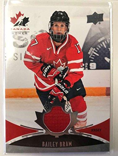 2016-17 Upper Deck Team Canada Juniors Hockey #152 Bailey Bram - Canada Baileys