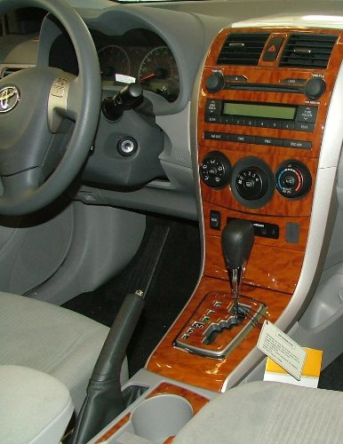 Toyota Corolla Interior Wood Dash Trim Kit Set 2009 2010 2011 2012 Buy Online In Uae Toyota