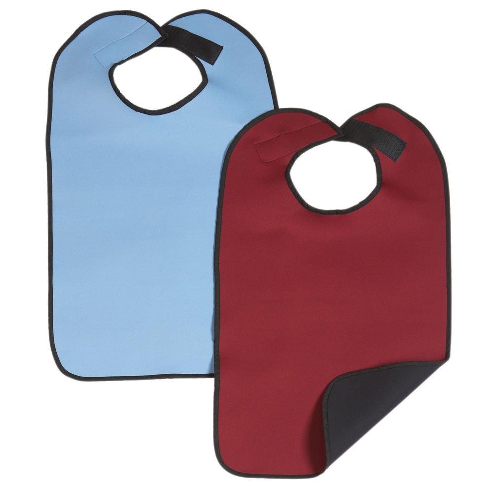 Maddak Ableware Blue Neoprene Clothing Protector - 18'' W x 33'' H