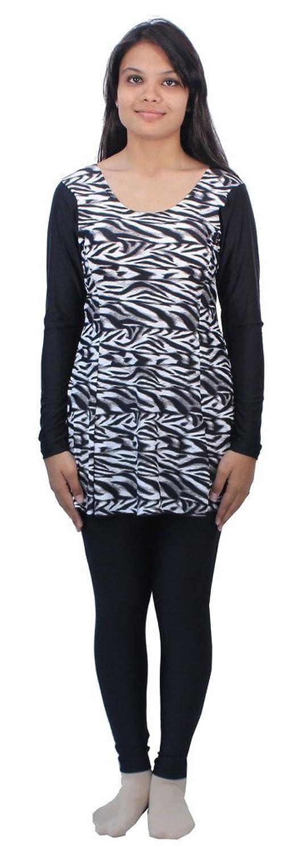 Romano Women's Black Swim Wear