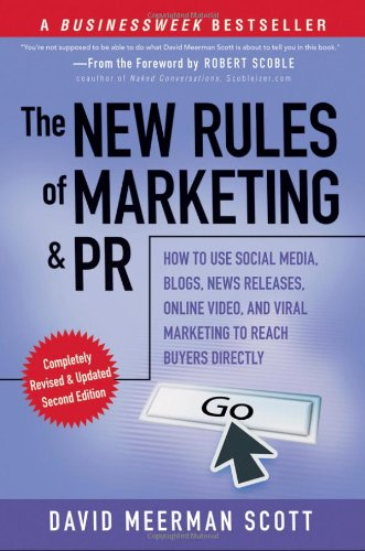 the new rules of marketing and pr how to use social media 読書