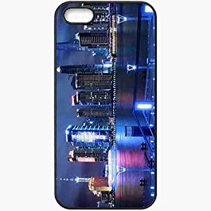 Protective Case Back Cover For iPhone 5 5S Case China Shanghai China Shanghai Pudong Airport Black