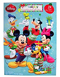 Mickey Mouse and Friends Chocolate Advent Calendar with 24...