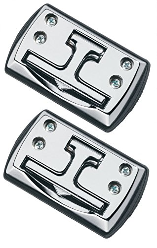 Highland (9150100) Chrome Fold-Away Cleats - 2 Piece