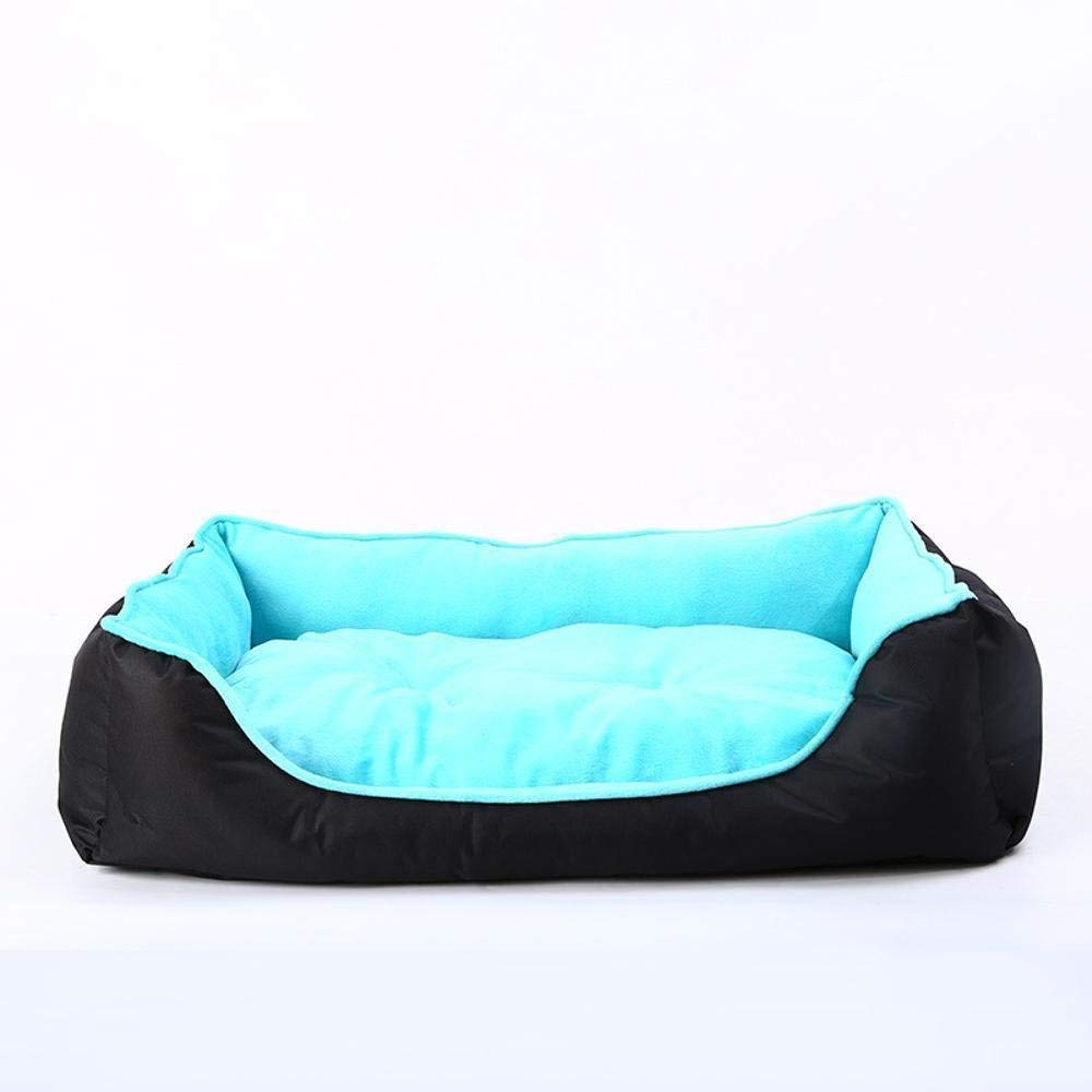C MediumGperw Pet Mat Super Soft short Plush dog Mattress PVC Oxford Cloth Non Slip Cushion Pad (color   A, Size   Large)