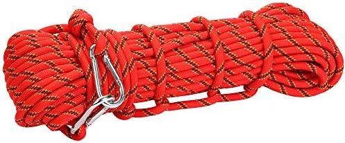 洞窟探検やスポーツに適した、耐久性のある直径10 mmのポリエステル製静電ロープ低張力クライミングロープ,10M