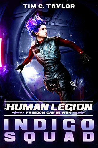 Book: Indigo Squad (The Human Legion Book 2) by Tim C. Taylor