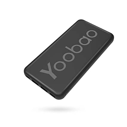 Amazon.com: Yoobao SP2 10000mAh Power Bank 10000mAh Negro ...