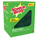 Scotch-Brite Heavy Duty Scour Pad (Pack of 20)