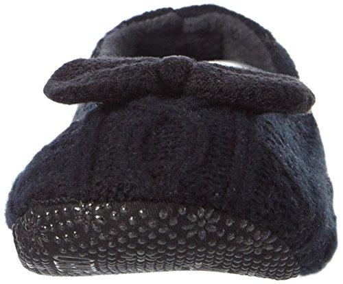 ELBEO, Damen Hausschuhe Schwarz (schwarz 9500)