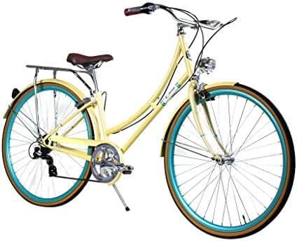 Zycle Fix Civic Women - Summer - Women City Series 7 Speed Urban Commuter Bike