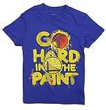 Outerstuff Golden State Warriors NBA Big Boys Go Hard in The Paint Shirt, Blue