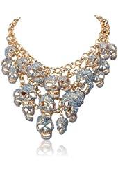 Jane Stone Luxurious Skull Jewelry Fashion Hot Sale Skulls Necklace