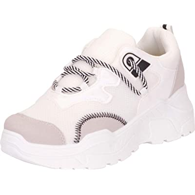 Cambridge Select Women's Retro 90s Rave Lace-Up Chunky Platform Fashion Sneaker | Shoes