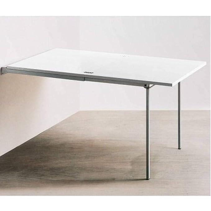 La Seggiola Mesa Consola Extensible Pallo Design Blanca: Amazon.es ...
