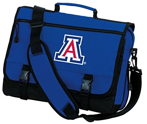 Broad Bay Arizona Wildcats Laptop Bag OFFICIAL University of Arizona Messenger Bags by Broad Bay