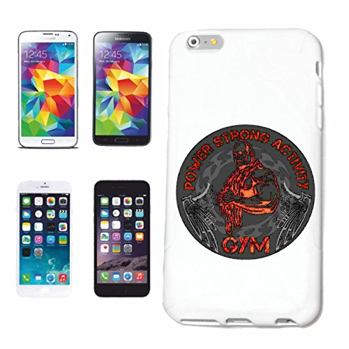 """cas de téléphone iPhone 6+ Plus """"POIDS DE FORMATION DE PUISSANCE ACTIVITÉ FORTE GYM BODYBUILDING GYM GYM muskelaufbau SUPPLEMENTS WEIGHTLIFTING BODYBUILDER"""" Hard Case Cover Téléphone Covers Smart Cove"""