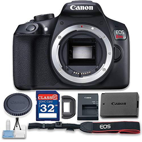 Canon EOS 2000D Rebel T7 Body only Package