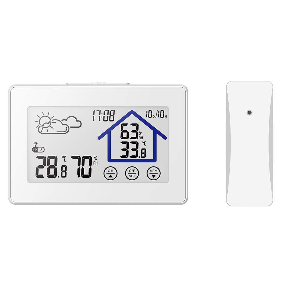 ETbotu Wireless Sensor Hygrometer Thermometer Humidity Temperature Meter Indoor Outdoor Weather Station
