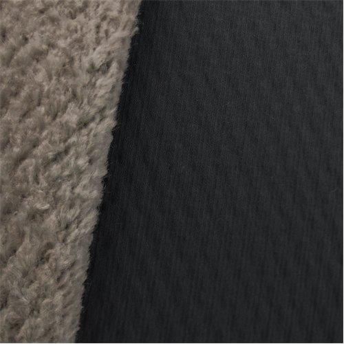 Soft Shell Curly Fleece - Slate Gray/White, Fabric By the Yard (Fleece Fabric Curly)