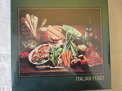 (Italian Feast 500 Piece Jigsaw Puzzle by PuzzleMakers International)