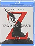 Cover Image for 'World War Z (Blu-ray 3D + Blu-ray + DVD + Digital Copy)'