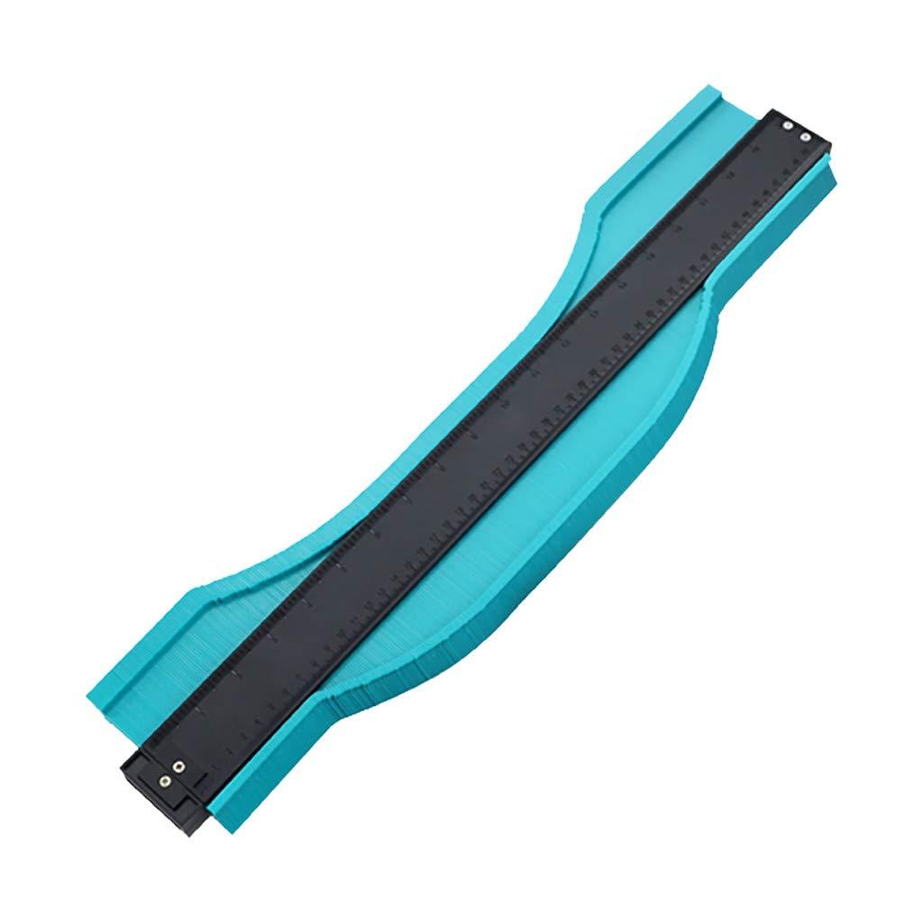 Naladoo 20 Inch ABS Plastic Contour Copy Duplicator Circular Frame Profile Gauge Tool by Naladoo Home