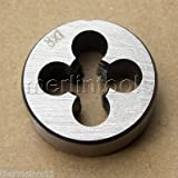 8mm x 1 Metric Right hand Die M8 x 1.0mm Pitch