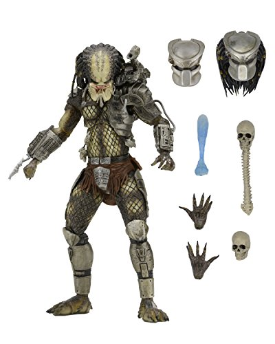 "NECA Predator 7"" Scale Ultimate Jungle Hunter Action Figure"