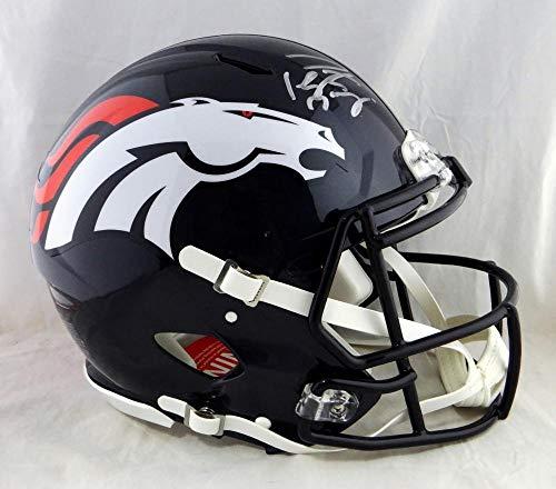 Signed Peyton Manning Helmet - F S Speed Authentic Fanatics Auth - Fanatics Authentic Certified - Autographed NFL Helmets