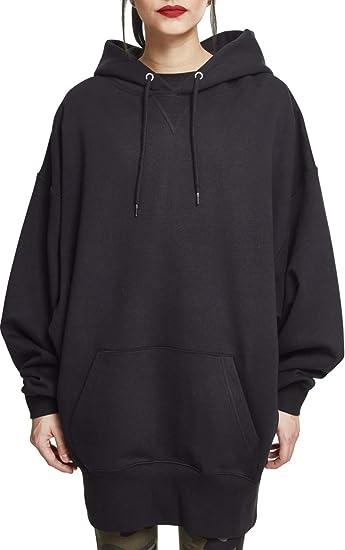 Auschecken 6d47c fc03a Urban Classics Damen Ladies Long Oversize Hoody Kapuzenpullover