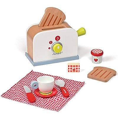 Janod J06541 - Jeu d'Imitation - Toaster Picnik