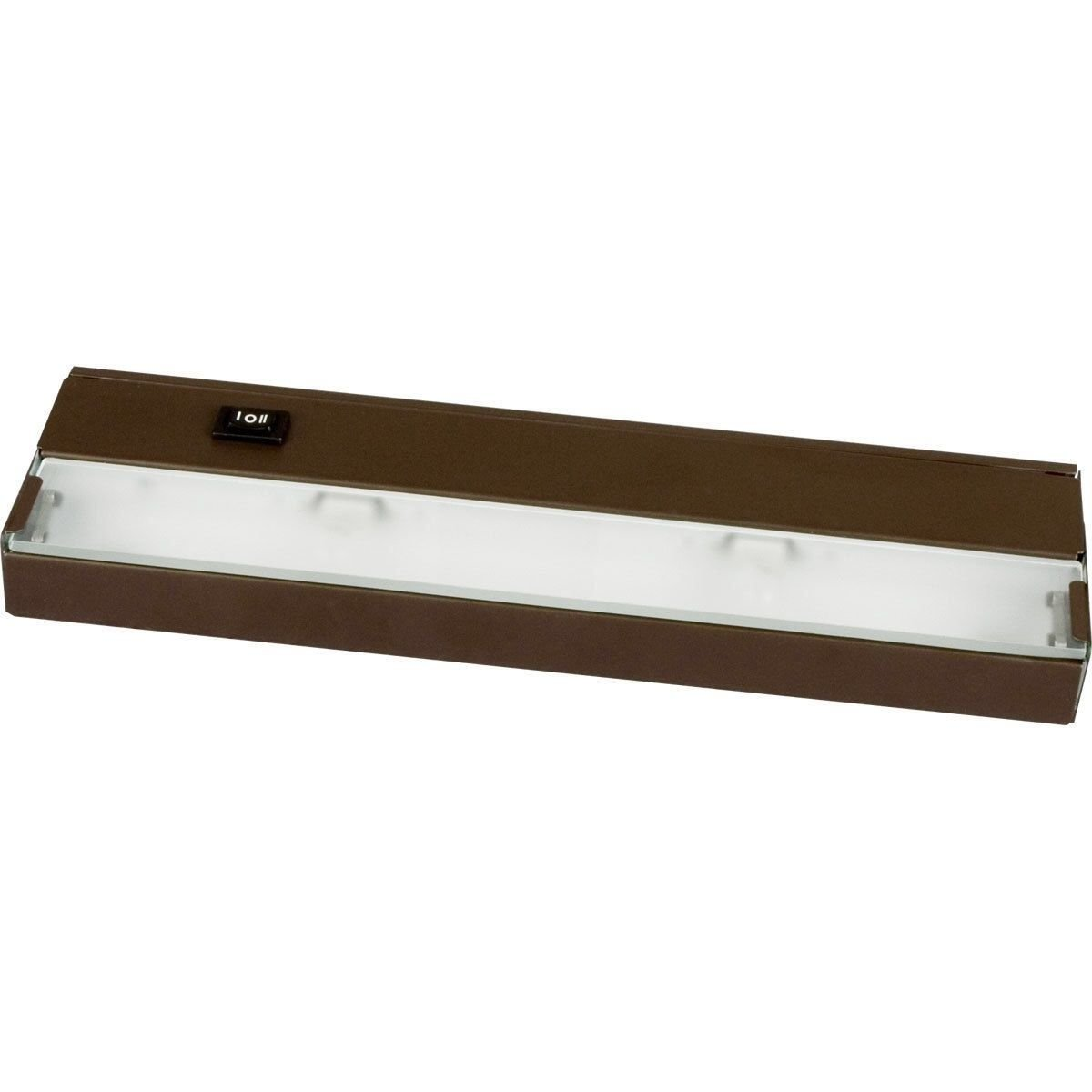 24'' 120v Direct Hard Wire Capable Led Inch Light Linkable Under Cabinet Bronze by Amax