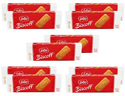 Lotus Biscoff | European Biscuit Cookies | 8.8 Ounce (10 Count) | non-GMO Project Verified | Vegan