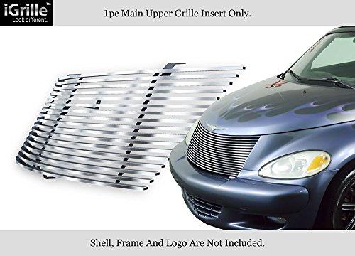 APS 2000-2005 Chrysler PT Cruiser Stainless Steel Billet Grille Grill Insert #S18-C10358R (Cruiser Billet Pt Grill)